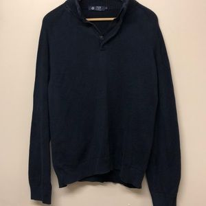 J Crew men's dark blue sweater